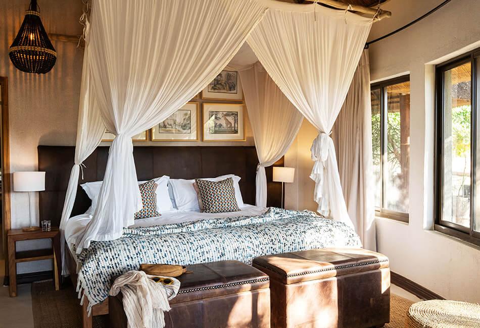 Simbavati Amani - bedroom detail
