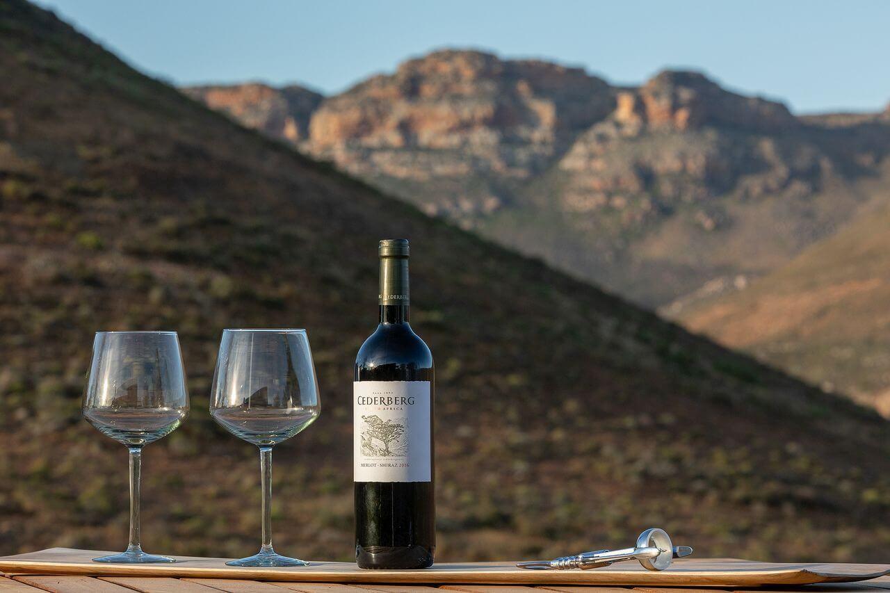 Simbavati Cederberg Ridge - wine-tasting
