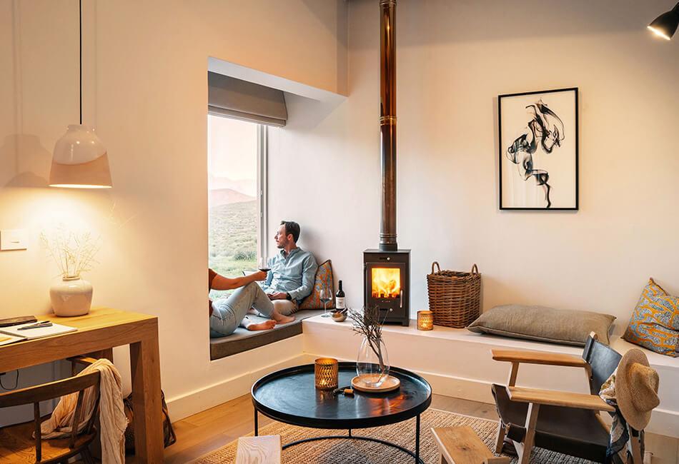 Simbavati Cederberg Ridge - bedroom window seat