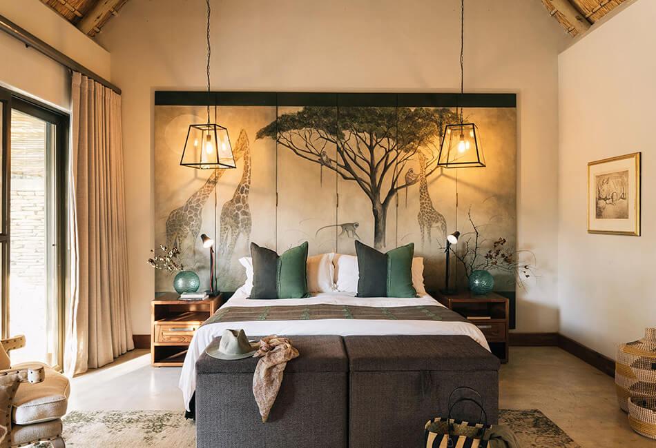 Simbavati Camp George - bedroom