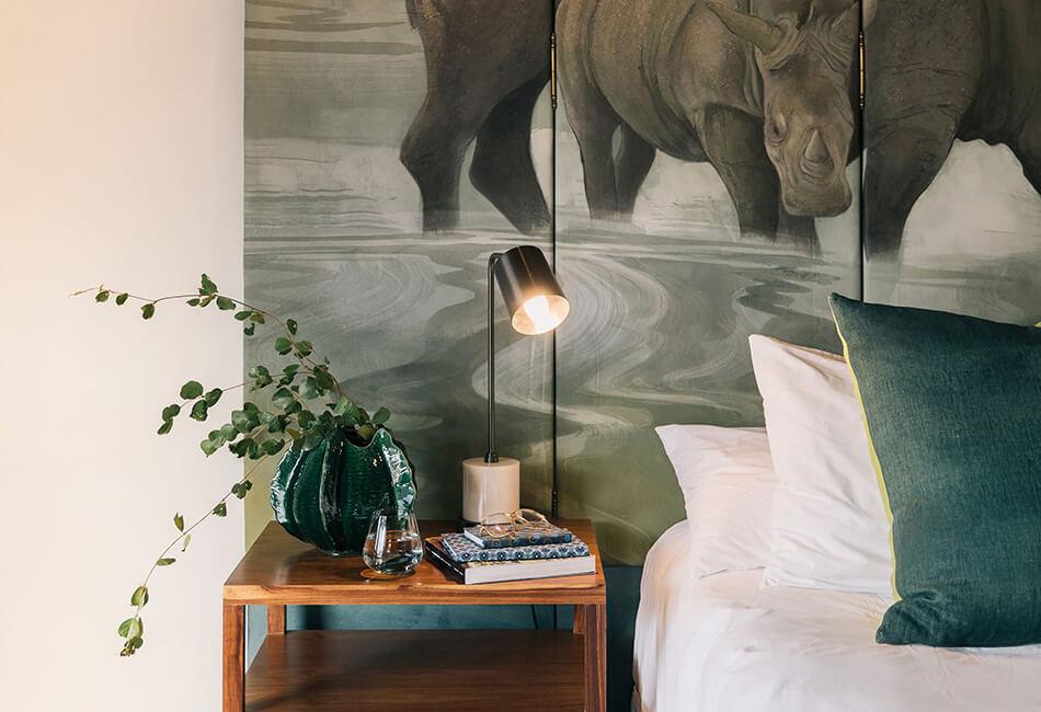 Simbavati Camp George - bedroom detail